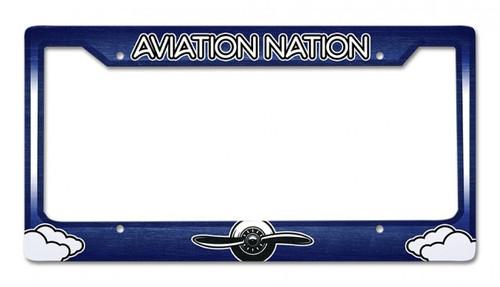 Aviation Nation License Plate Frame