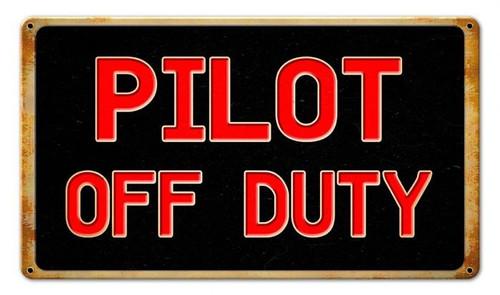 Pilot Off Duty Sign