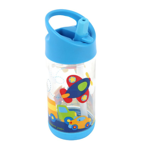 Airplane Flip Top, Spill Proof Drink Bottle