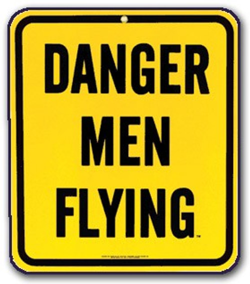 Danger - Men Flying - Magnet