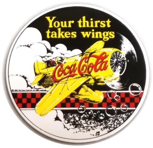 Coca Cola Gee Bee Magnet