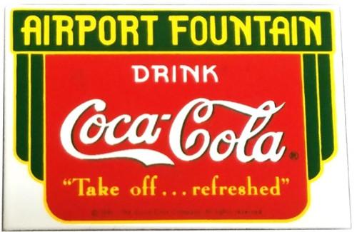 Coca Cola Airport Magnet