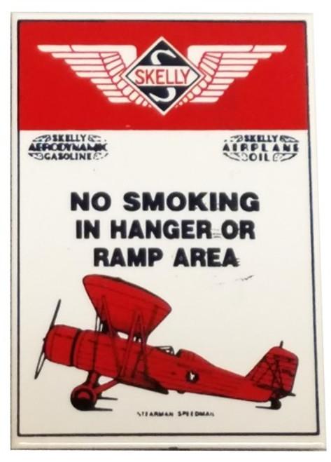 No Smoking in Hangar Magnet