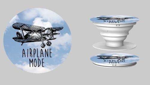 Airplane Mode Pop Phone Stand