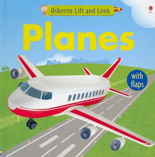 Planes Board Book - Lift and Look Flaps