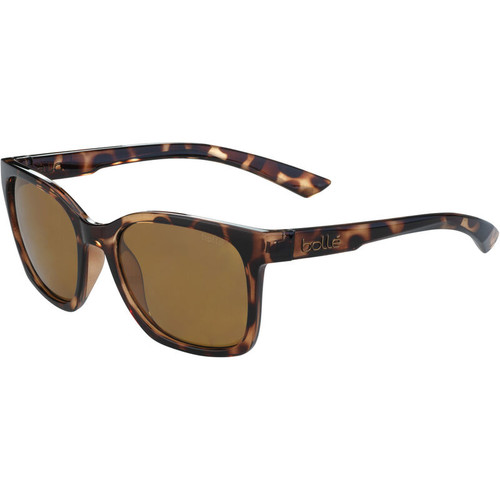 Bolle Ada Sunglasses - Shiny Tortoise, HD Polarized Brown