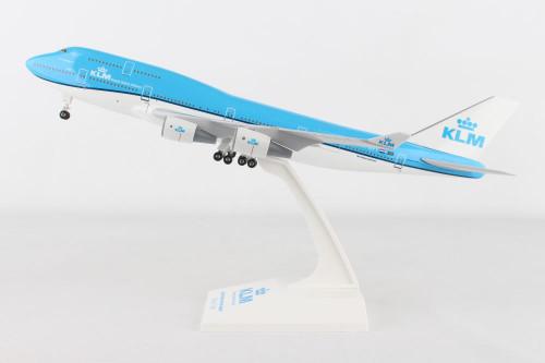 SKYMARKS KLM 747-400 1/200 W/GEAR NEW LIVERY