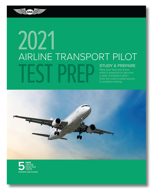 2021 ASA Airline Transport Pilot Test Prep