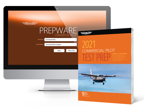 2021 ASA Commercial Test Prep / Software Download Bundle