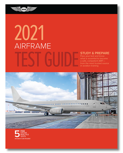 2021 ASA Airframe Test Guide