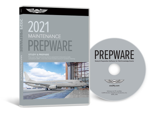 2021 ASA General, Airframe, & Powerplant Prepware Combo