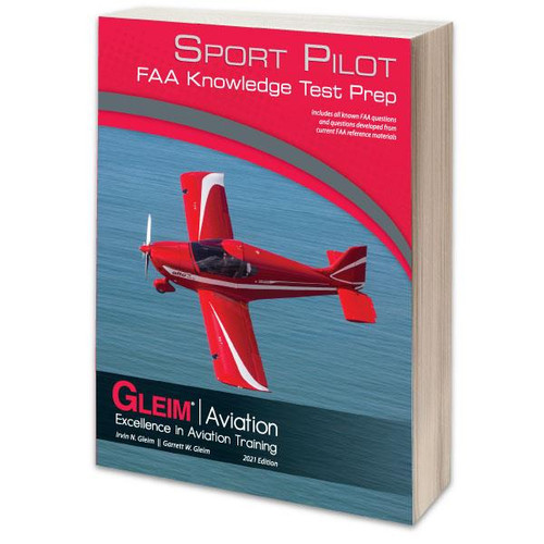 Gleim 2021 Sport Pilot Knoweldge Test Guide