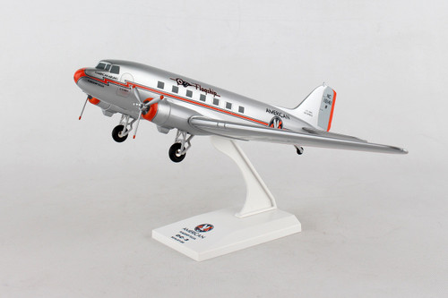 SKYMARKS American Airlines DC-3 1/80 W/Gear Flagship Tulsa