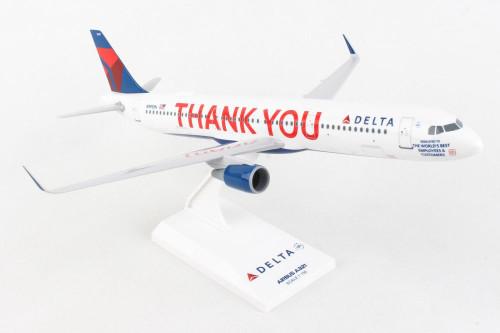 SKYMARKS Delta A321 1/150 THANK YOU