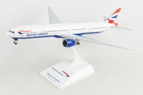 SKYMARKS British Airways 777-300ER 1/200 W/Gear REG G-STBC
