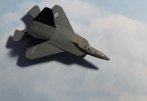 Hot Wings F-22 Raptor