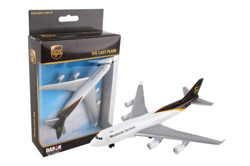 UPS 747F Single Plane