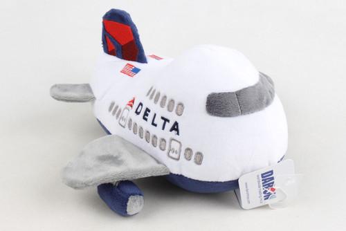 Delta Plush Airplane with Sound