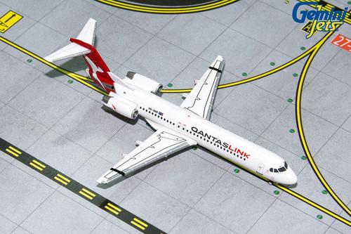 Gemini Qantaslink F-100 1/400 NEW LIVERY REG#VH-NHP (**)