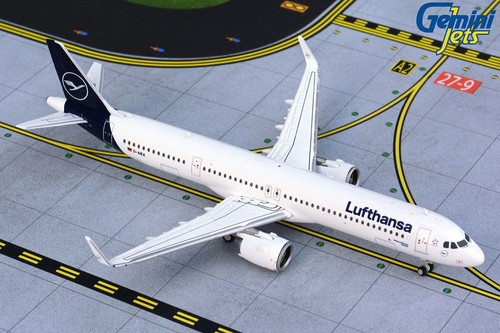Gemini Lufthansa A321NEO 1/400 NEW LIVERY REG#D-AIEA