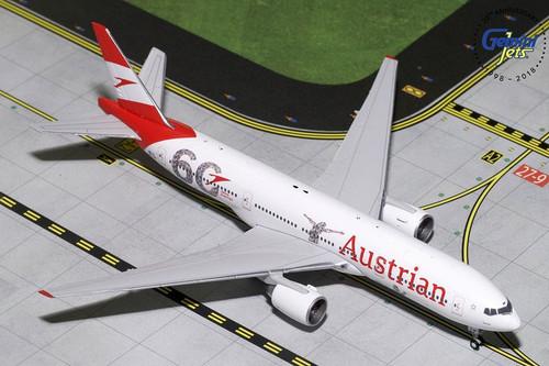 Gemini Austrian 777-200ER 1/400 60th ANNIVERSARY OE-LPF