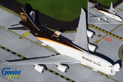 GeminiJets UPS 747-8F 1/400 Reg# N606UP Interactive Series