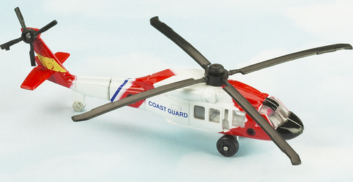 Hot Wings UH-60 Coast Guard Helicopter