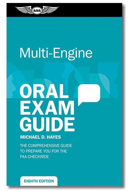 Oral Exam Guide - Multi-Engine 8th Ed