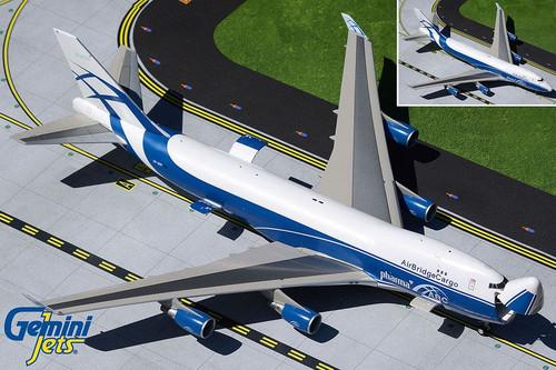 Gemini200 AirBridge Cargo 747-400ERF 1/200 Reg# VP-BIM