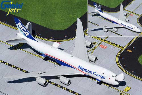 GeminiJets Nippon Cargo 747-8F 1/400 Interactive Reg# JA14KZ