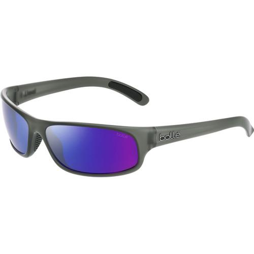 Bolle Anaconda Sunglasses - Grey Crystal Matte, Brown Blue