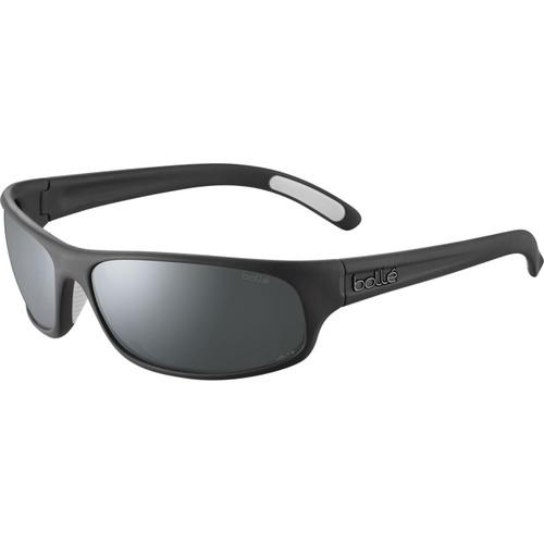 Bolle Anaconda Sunglasses - Black Matte, Volt+ Gun Polarized