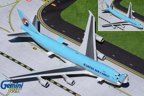 Gemini200 Korean Air Cargo 747-400ERF 1/200 HL7603 Interactive Series
