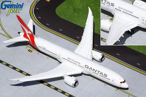Gemini200 Qantas 787-9 1/200 Flaps Down Reg# VH-ZNK