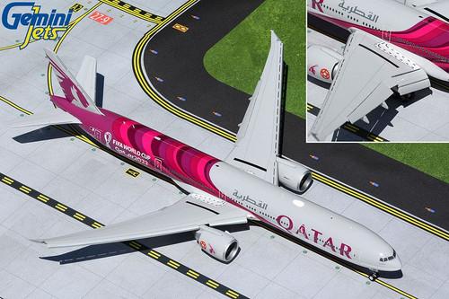 Gemini200 Qatar 777-300ER 1/200 FIFA World Cup Flaps Down A7-BEB