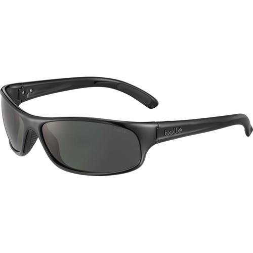 Bolle Anaconda Sunglasses - Shiny Black, Polarized TNS