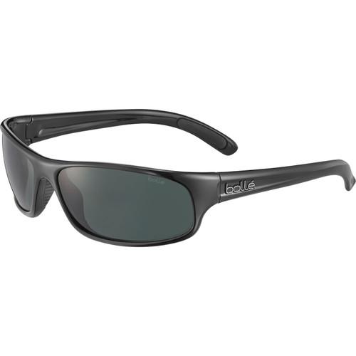 Bolle Anaconda Sunglasses - Shiny Black, TNS