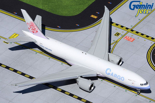 GeminiJets China Airlines Cargo 777F Flaps Extended 1/400 Reg# B-18771
