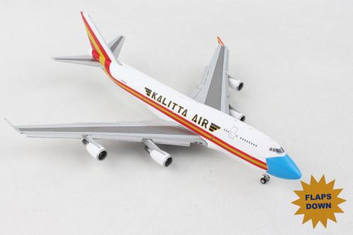 Gemini Kalitta 747-400BCF 1/400 Flaps Down N744CK Mask Livery