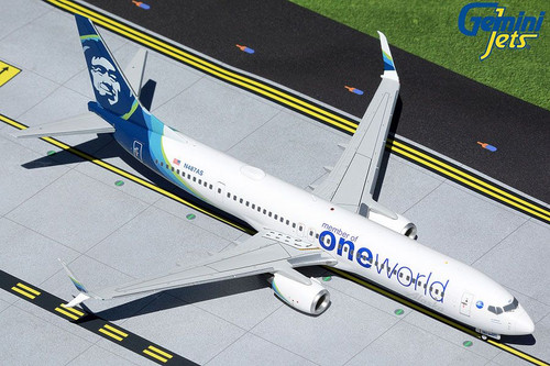 Gemini200 Alaska 737-900ER 1/200 OneWorld Reg# N487AS