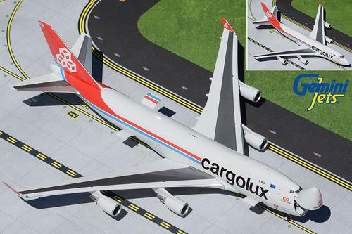 Gemini200 Cargolux 747-400ER 1/200 Interactive Reg# LX-LXL