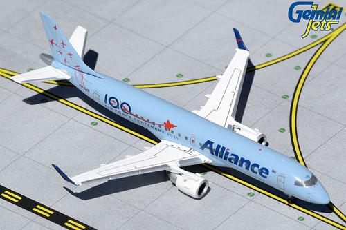 GeminiJets Alliance E190 1/400 Air Force Centenary Reg# VH-UYB