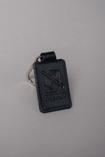 Cirrus Leather Key Fob