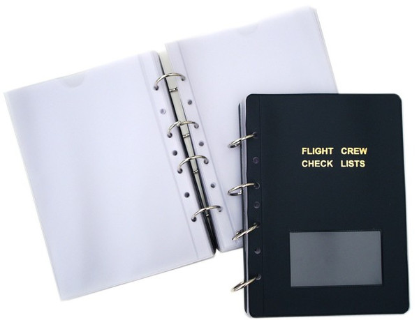 Flight Crew Checklist Holder