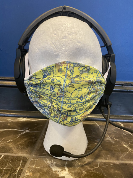 Custom Atlanta Sectional Face Mask