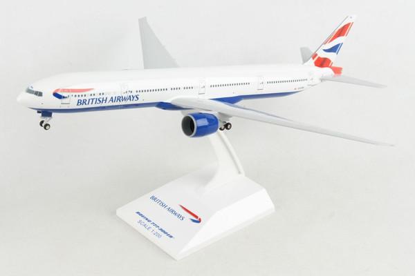 SKYMARKS British Airways 777-300ER 1/200 W/Gear REG G-STBC