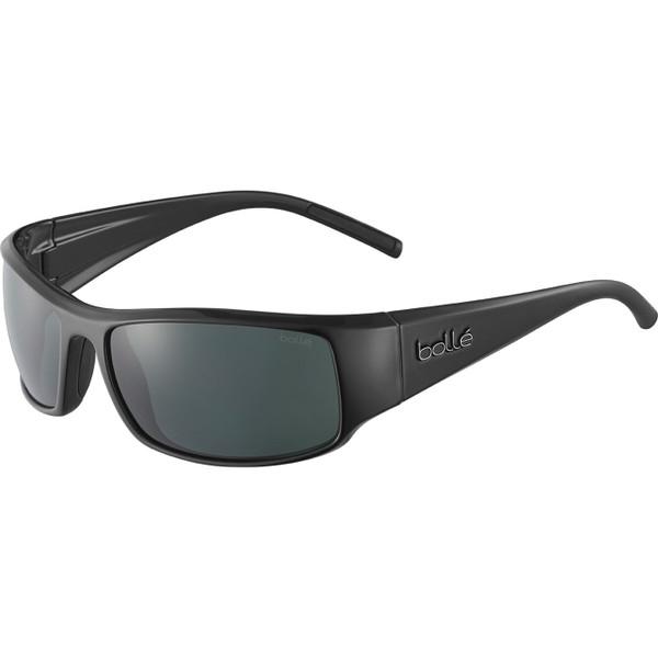 Bolle King Sunglasses - Shiny Black, TNS