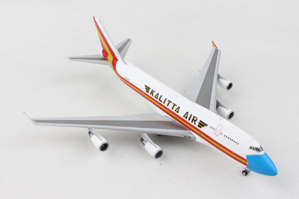 Gemini Kalitta 747-400BCF 1/400 REG#N744CK Mask Livery