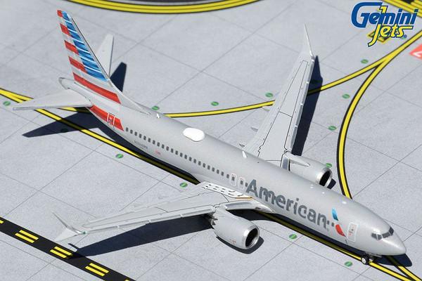 GeminiJets American 737MAX8 1/400 Reg# N324RN