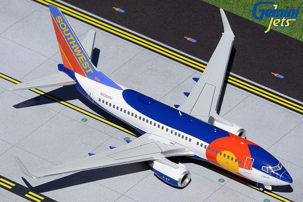Gemini200 Southwest 737-700 1/200 Colorado One Reg# N230WN